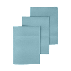 "Dry-Back Plus Medicom Aqua plain rectangle (13"" x 18"") 3 ply Paper/1 ply Poly"