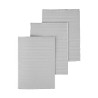 "Dry-Back Plus Medicom Silver Gray plain rectangle (13"" x 18"") 3 ply Paper/1 ply"