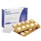 HemoStat SafeGauze Topical Hemostatic Dressing is a sterile, woven, pH neutral