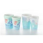 Medicom Bubbles 5 oz. Poly Coated Paper Cups, Case of 1000