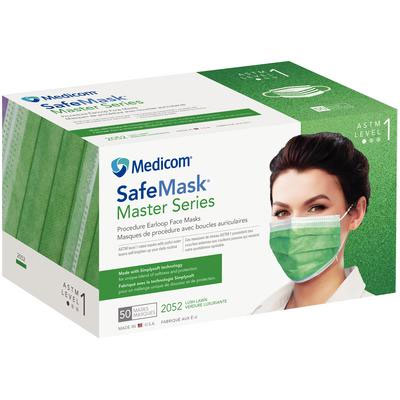 Master Lush Face Mask Astm Ear-loop - Lawn Series 1 Safemask Level