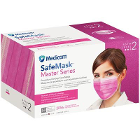 SafeMask Master Series Ear-Loop Face Mask ASTM Le