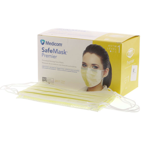 level 1 surgical face mask