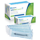 "SafeSeal Quattro 2.25"" x 4"" Self-Sealing Sterilization Pouches 200/Pk"