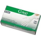 Curad 3G Stretch Vinyl Exam Gloves - X-SMALL 100/Bx. Soft, Powder-Free, Smooth