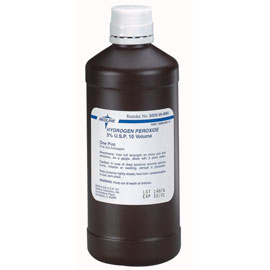 Medline 3 usp hydrogen peroxide 16 oz 12 bx used as a first aid dental supplies - Unknown uses hydrogen peroxide ...