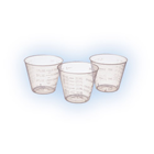 Medline 1 oz. Medicine/Mixing Cups - Clear Plastic, Box of 1000
