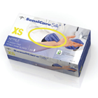 SensiCare Silk Nitrile Exam Gloves: X-SMALL 250/Bx. Powder-Free