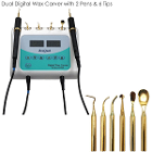 BesQual S500N Digital Dual Wax Carver with 2 pens & 6 tips. Silicon grip keeps