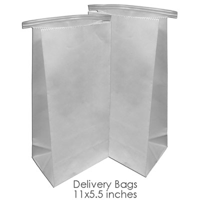"BesQual Denture Delivery Bags 11"" x 5.5"", 500/Pk."