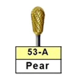 BesQual 53A Pear Titanium Nitrite Coated Carbide