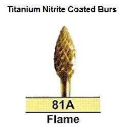 BesQual 81A Flame Titanium Nitrite Coated Carbide