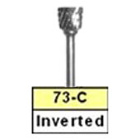 BesQual 73C Inverted Cone Laboratory Carbide Bur, HP Shank 2.35mm 1/Pk. Premium