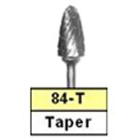 BesQual 84T Taper Laboratory Carbide Bur, HP Shank 2.35mm 1/Pk. Premium