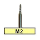 BesQual M2 Round End Laboratory Carbide Bur, HP Shank 2.35mm 1/Pk. Premium