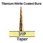 BesQual 31P Taper Titanium Nitrite Coated Carbide