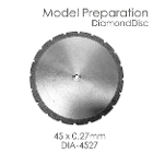 BesQual Model Preparation Diamond Disc 45mm x 0.27mm. Diamond disc only, mandrel not included