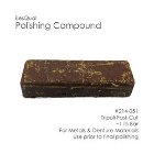 BesQual Polishing Compound - Tripoli / Fast Cut, 1 Lb. Bar. Excellent