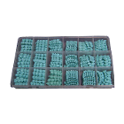 BesQual Pontic Wax - about 300 pieces Set, includes 10 different sizes