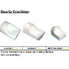 BesQual Crucible - Quartz. Hooded. Fits any standard type or broken arm casting