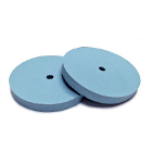 Meta Silicone Rubber Polishers - Fine Blue High Luster Wheel (22mm x 3mm)