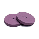 Meta Silicone Rubber Polishers - Medium Pink Smoothing Wheel (22mm x 3mm)