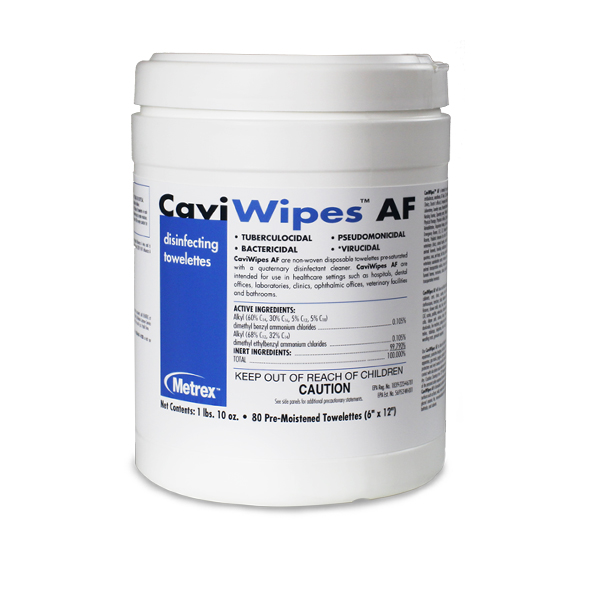 CaviWipes AF Multi-Purpose disinfectant (6