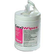 "CaviWipes Towelettes (Large: 6"" x 6.75"") 220/Can."