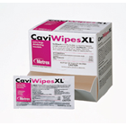 "CaviWipes Towelettes (X-Large: 9"" x 12"") 50/Can. Easy-to-use disposable"