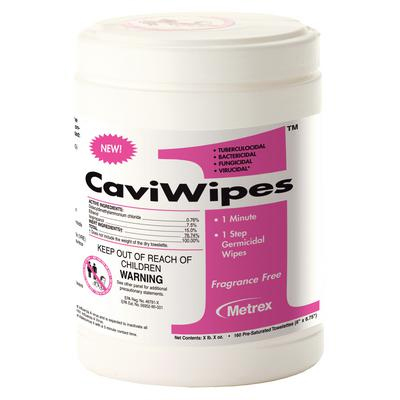 "CaviWipes1 Towelettes (Large) 160/Can. 6"" x 6.75"""