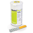 MetriTest 1.8% Glutaraldehyde Indicator Strips, 60 Strips/Bottle. To test