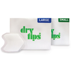 Dry Tips Saliva Absorbent tips - Large, Flexible tapered design accommodates to cheek movements