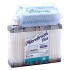 Microbrush Plus with Dispenser and Super Fine White 400/Pk. Dispenser Series