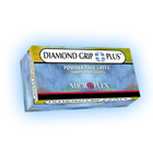 Diamond Grip Plus Latex Gloves: MEDIUM Powder-Free, Textured, Non-Sterile 100/Bx