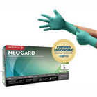 NeoGard Chloroprene exam gloves: SMALL, non-sterile, powder-free