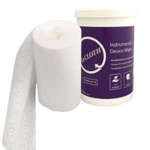 LeCloth Dry Wipes - Intro Kit: 8 rolls and 2 cani