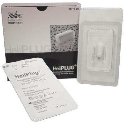 "HeliPlug 3/8"" x 3/4"" Absorbable Collagen Bovine P"