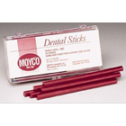 Miltex Union Broach Sticky Wax - Red Sticks, Box of 24