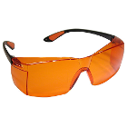 Defend Plus U.V Protective Eyewear, Orange lens, filter out over 98%