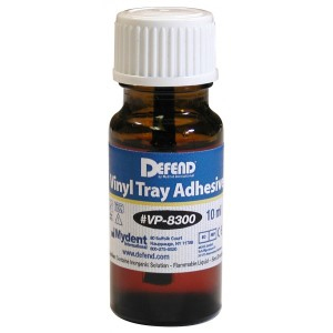 Defend Vinyl Tray Adhesive 10 ml, For firm adhesi