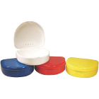 "Defend Retainer Box - Assorted Colors 3"" x 2-1/2"" x 1"" deep, 12/Bx. Special"