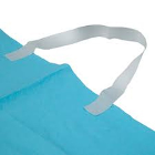 Defend Disposable Aseptic Bib Band, 250/Bx. Stretch to fit paper bib holder