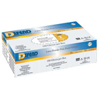 Defend Latex gloves: Non-Sterile, Powder-Free, Smooth, Non-Chlorinated, box of 100 Small gloves