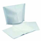 "Defend 10"" x 13"" White Tissue/Poly Head Rest Covers, Box of 500 Covers"