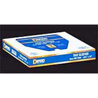 "Defend 10.5"" x 14"" Clear Plastic Tray Sleeves, Box of 500"