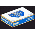 "Defend 15"" x 26"" Clear Plastic X-Ray Sleeves, fits over most X-Ray heads, Box"