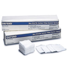 "Defend 2"" x 2"" 4 ply Non-Sterile Non-Woven 32 gram weight"