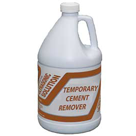 Mydent temporary cement remover 1 gallon ready to use for Cement cleaning solution