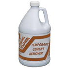 Mydent Temporary Cement Remover, 1 Gallon. Ready to use, fast-acting ultrasonic detergent removes
