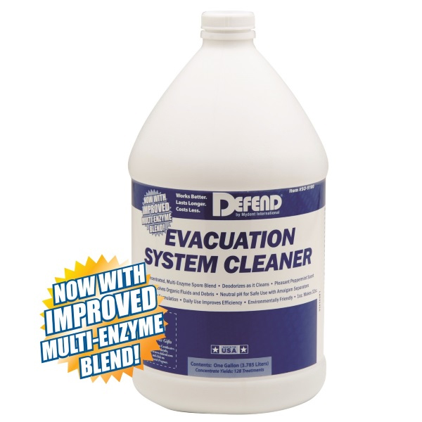 SURG Evacuation System Cleaner, 1 Gallon. Non-foa